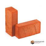 Кирпич керамический полнотелый одинарный М-100, 125